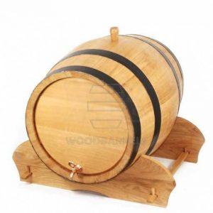 100 oak barrels