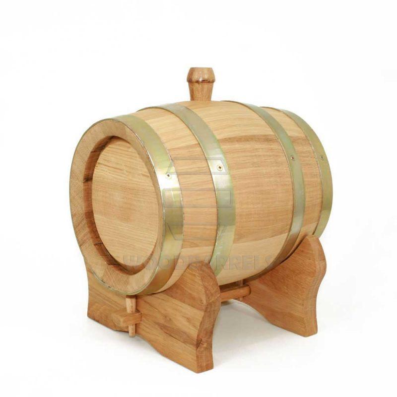3 litre wooden barrel