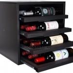 Cube Wine Rack 4 shelves