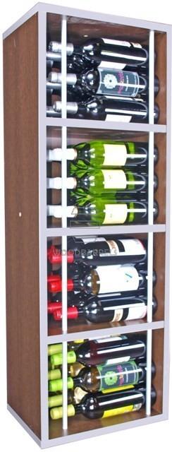 Wine Rack Display 36 bottles