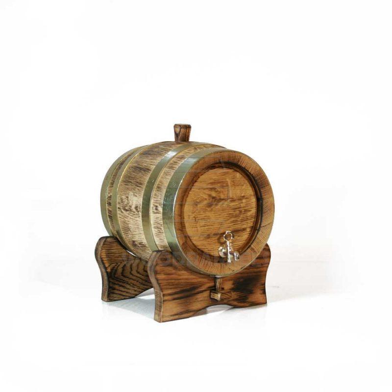3 gallon oak barrel