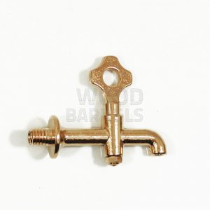 medium brass tap