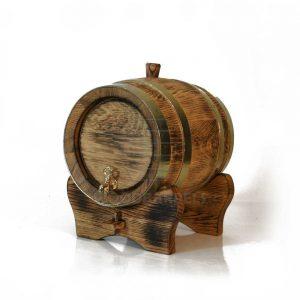 5 litres whisky barrel