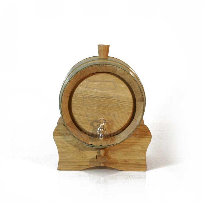 3 litres oak barrel