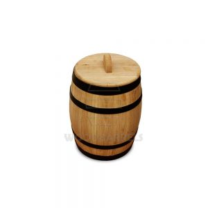 3 Litre Pickled Gherkins Oak Barrel