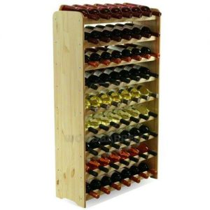 tall wine rack