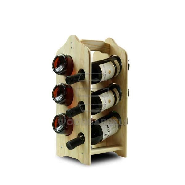 oak wine racks