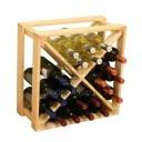 Cube Wine Rack 24 bottles