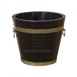 Round Oak Planter-33x30cm