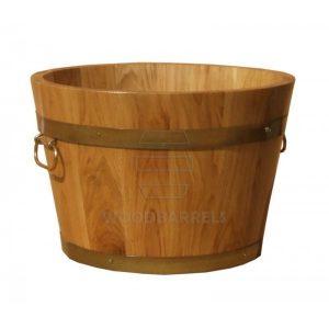 Round Oak Planter-43x28cm