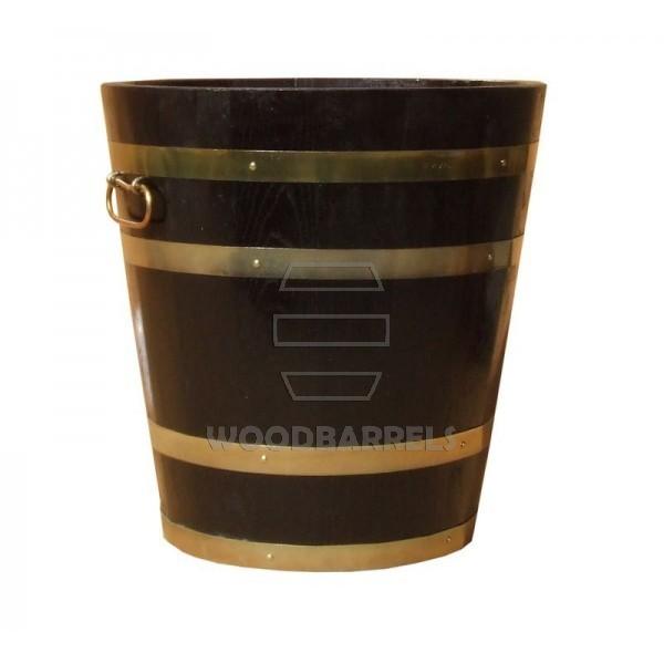 Round Oak Planter 46x50cm