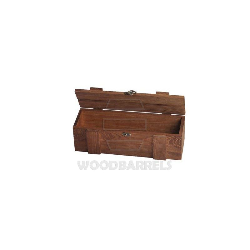 Wine Crate for 1 bottle brown