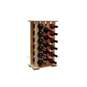 Wine Rack 17 bottles 4x6