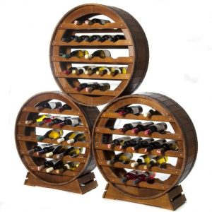 Wine Rack 21 bottles-Merlot