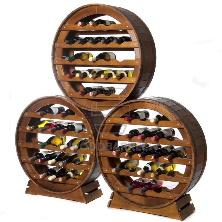 Wine Rack 21 bottles-Merlot