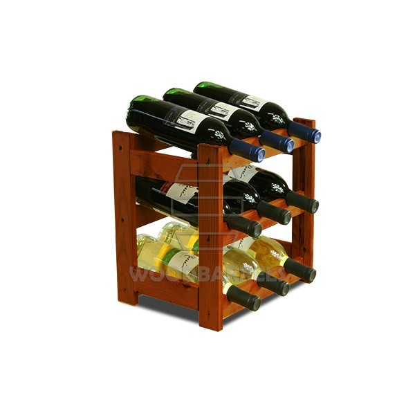 Wine Rack 9 bottles