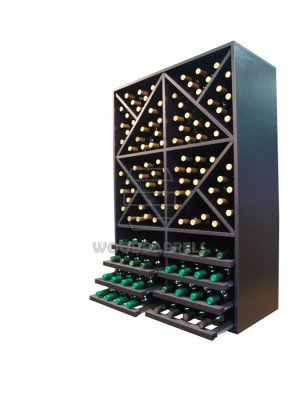 Wine Rack Display 112 bottles