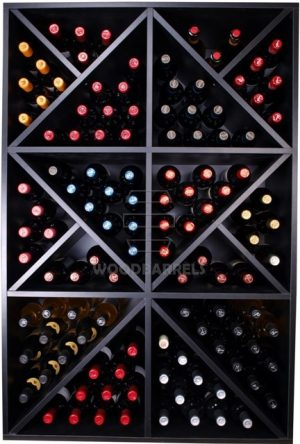 Wine Rack Display 124 bottles