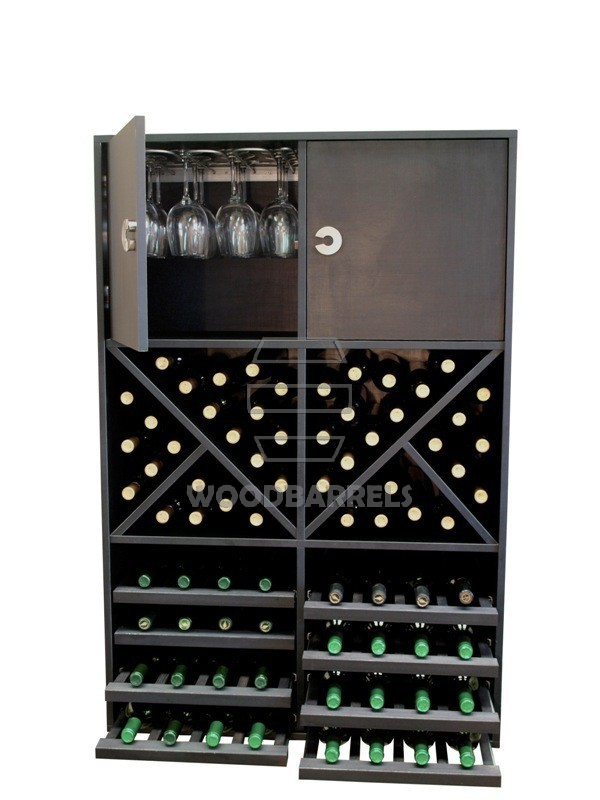 Wine Rack Display 72 bottles
