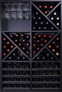 Wine Rack Display 92 bottles