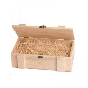 Wine Crate for 2 bottles natural