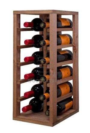 Wooden Wine Rack 12 bottles