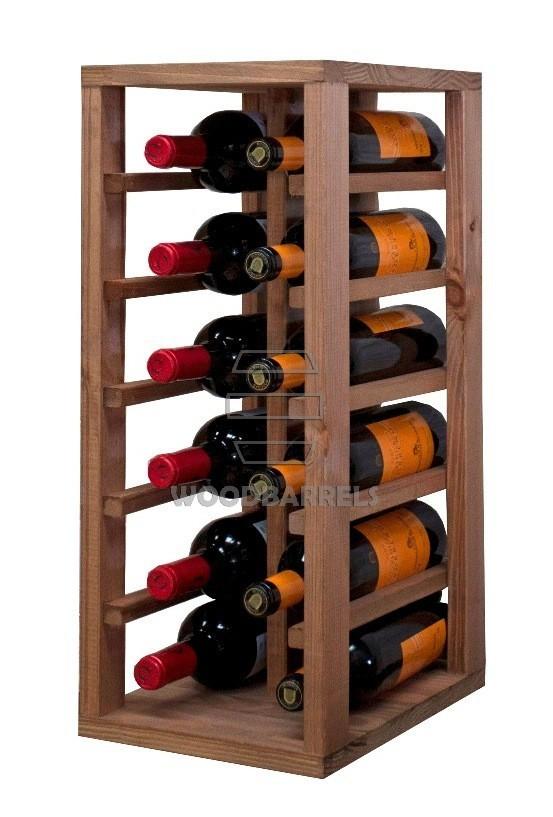 Wooden Wine Rack 12 bottles