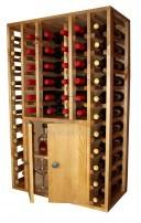 Wooden-Wine-Rack-Display-2-doors-46-bottles-3