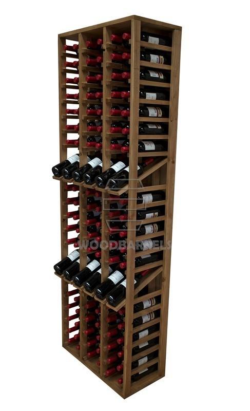 Wooden Wine Rack Display for 114 bottles