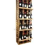 Wooden Wine Rack Display for 120 bottles