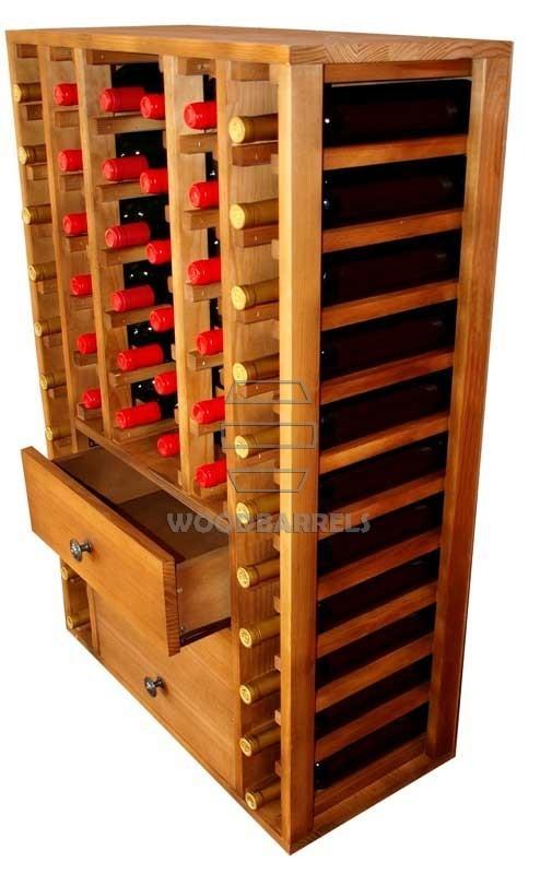 Wooden-Wine-Rack-Display-for-46-bottles
