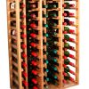 Wooden Wine Rack Display for 66 bottles