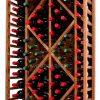 Wooden Wine Rack Display for 70 bottles