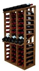 Wooden Wine Rack Display for 58 bottles