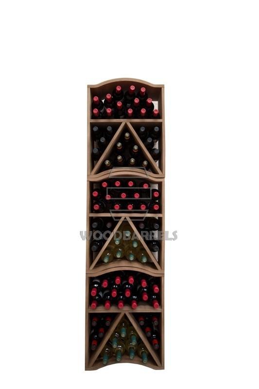 Wooden Wine Rack for 30 bottles