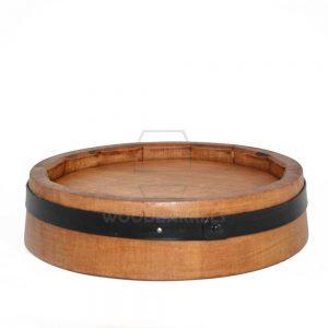 wooden barrel ends