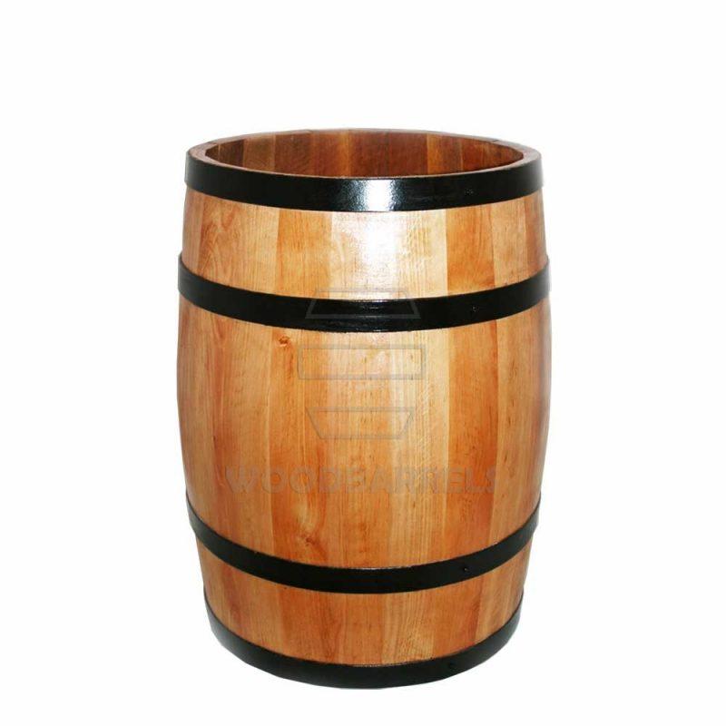 wooden display barrels for sale