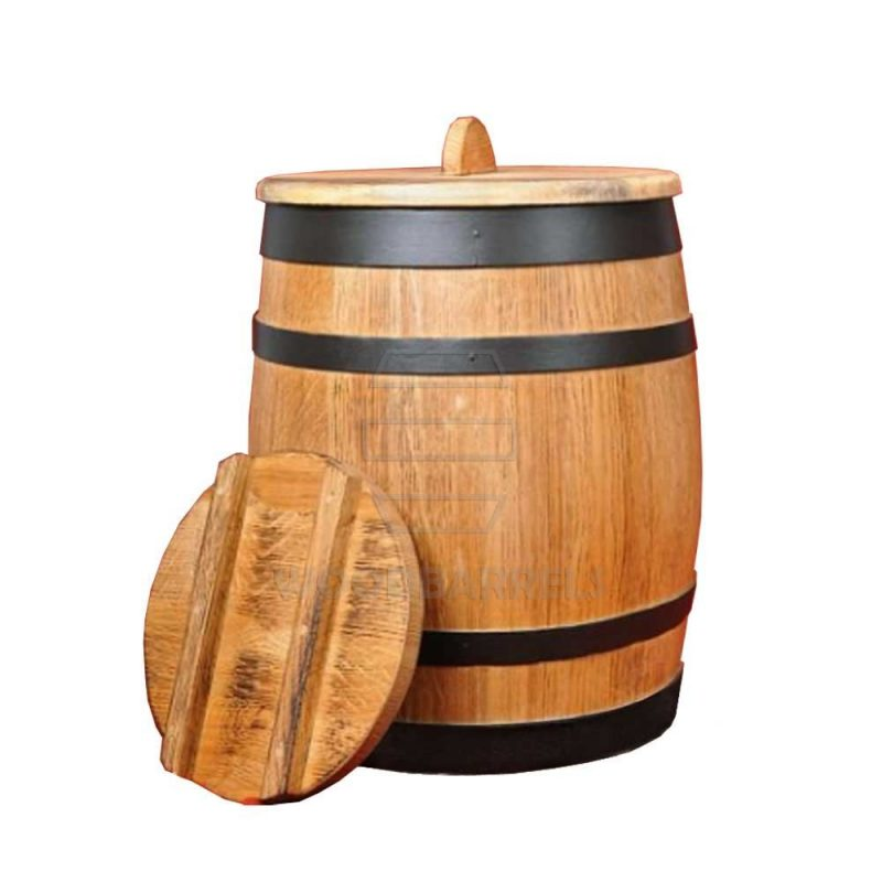 WOODEN STORAGE BARRELS