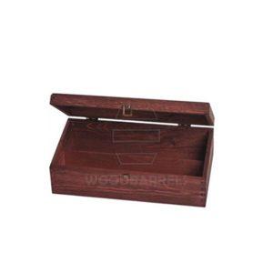 Wine Box for 2 bottles_mahogany