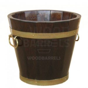 Round Oak Planter 53cm/30cm