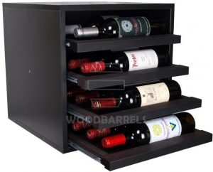 Cube Wine Rack 4 shelves