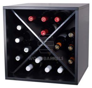 Cube Wine Rack 4x4 bottles