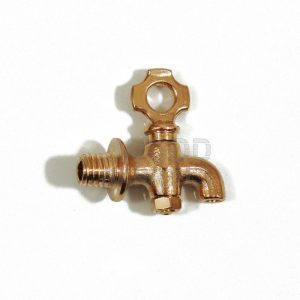 small brass tap