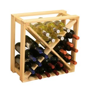 Cube Wine Rack 24 bottles