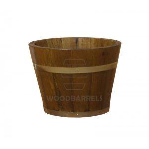 Round Oak Planter 31cmx25cm