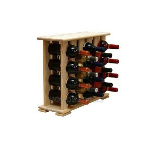Wooden Wine Rack 18 bottles