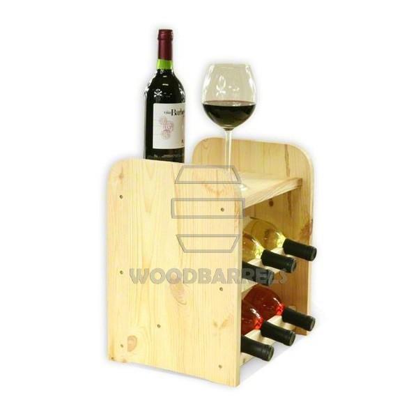 Wine Rack 6 bottles