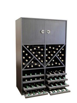 Wine Rack Display 72 bottles