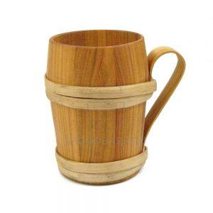 wooden beer mug for sale