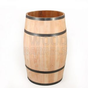 Wooden Display Barrel